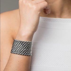 SG Liquid Metal Silver Bracelet Sergio Gutierrez